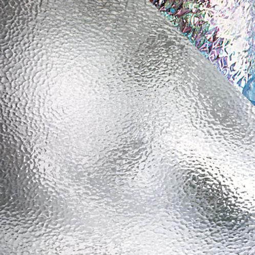 Iridised Clear Hammered (per square metre)
