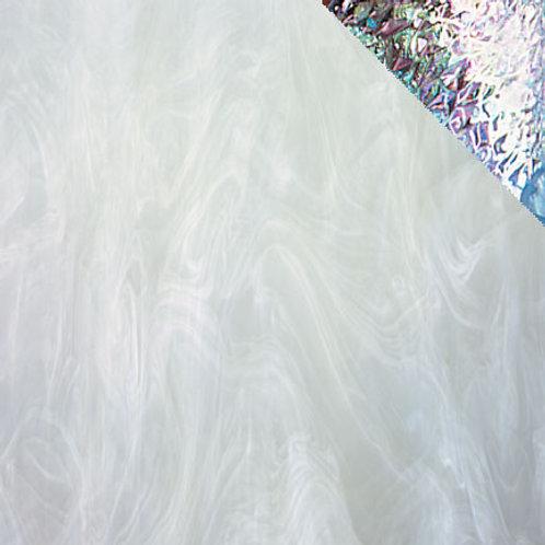 Iridised White/Clear (per square metre)