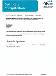 Wing Kam Wong's Childminder Certifcate