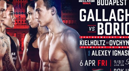 Bellator 196 Budapest Denise Kielholtz 6th April
