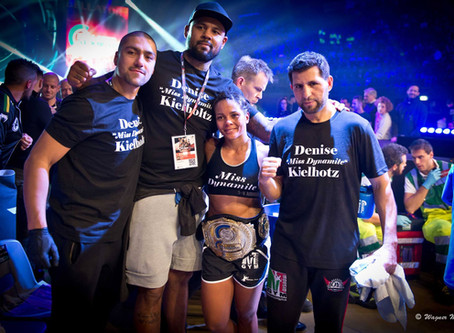 Denise Kielholtz Bellator title Fight