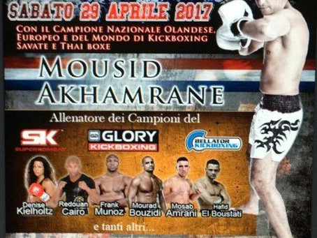 Mousid Akhamrane STAGE Seminar Rome 29 April