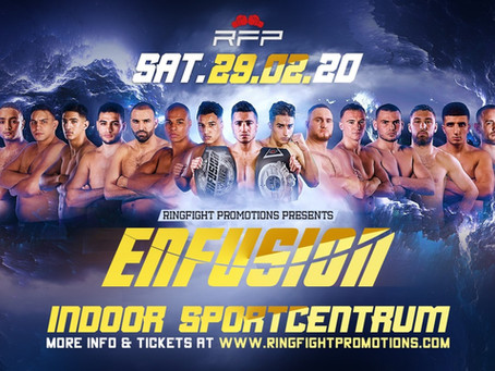 Kickboxing Results: Enfusion Eindhoven