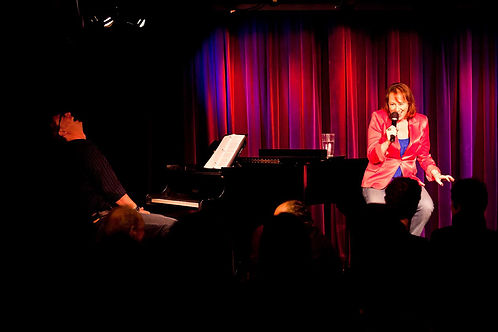 Sue Berch and Matt Castle at Laurie Beechman Theatre