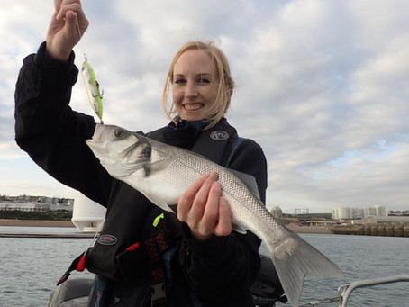 Brighton Inshore Fishing - Catch report 10th August 2017