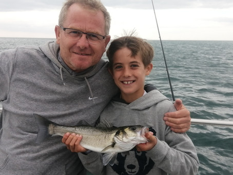 Brighton Inshore Fishing - Catch report 1st September 2021