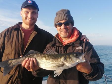 Brighton Inshore Fishing - Catch report 12th September 2021