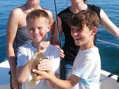 Brighton Inshore Fishing - Catch report 18th July 2021