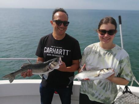 Brighton Inshore fishing - Catch report 10th September 2020