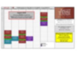 August 2020 BT-SLO Class Schedule, Zoom.