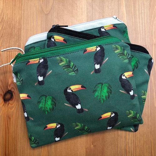 Toucan coin purse