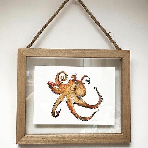 Framed animal print