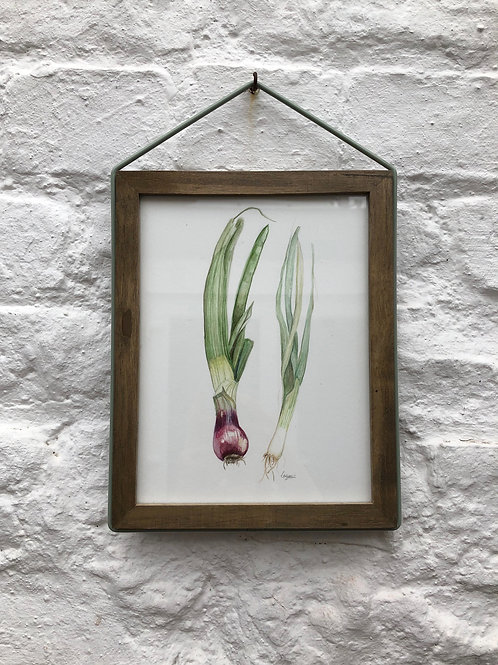 Original spring onion painting