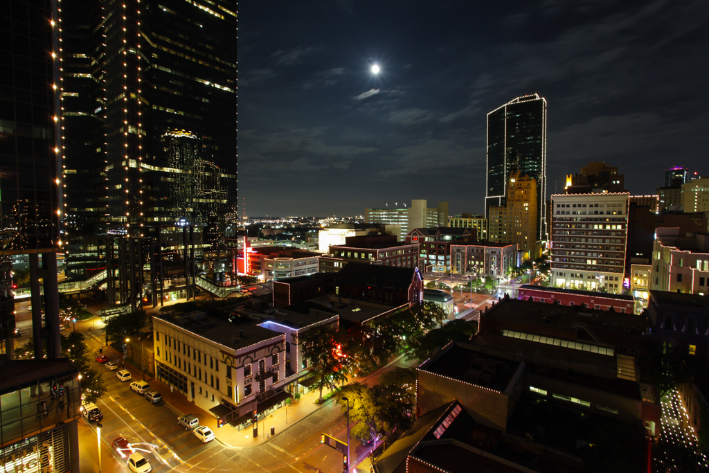 Fort Worth Moon