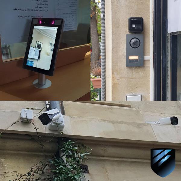 Sécurisation complète d'une ambassade en contrôle d'accès et vidéosurveillance. Nos spécialistes sont formés et toujours en perpétuelle mise à niveau pour des technologies en constante évolution.