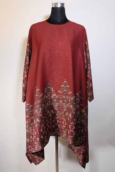 Cotton Mix Pattern Tunic