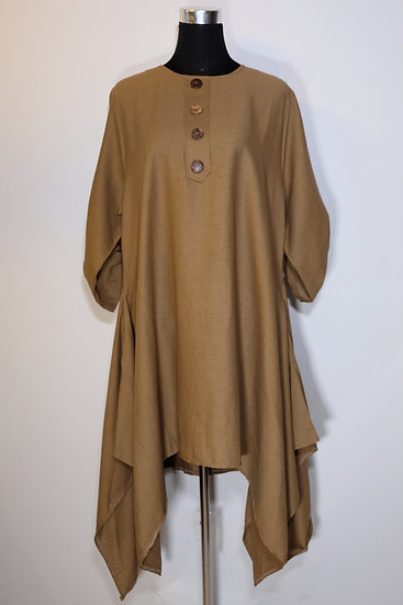Cotton Linen Tunic