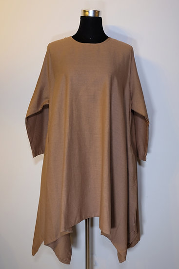 Cotton Linen Flat Tunic
