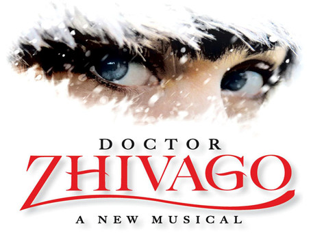 Broadway's Doctor Zhivago Musical Full Cast and Stunning Billboard in Times Square