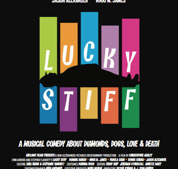 LUCKY STIFF SCREENS AT PALM SPRINGS 2015 FILM FESTIVAL!