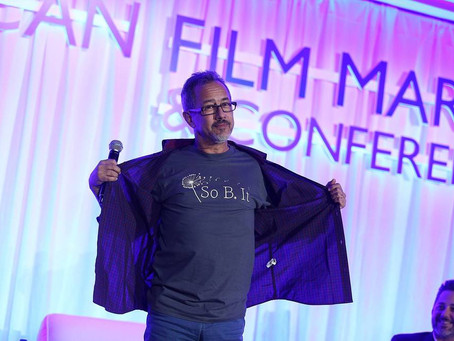 J. Todd Harris Promotes So B. It at AFM!