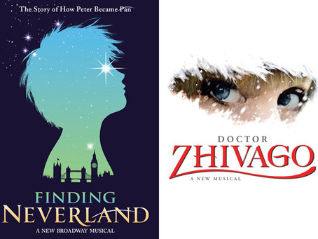 The Tony Showdown of the Season: Finding Neverland vs. Doctor Zhivago