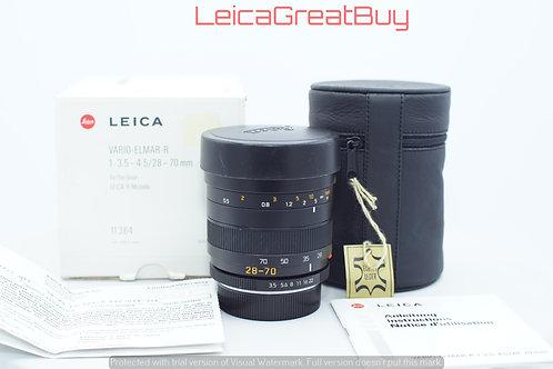 Leica Vario-Elmar-R 28-70mm f/3.5-4.5 MF Lens ROM Boxed #3788591