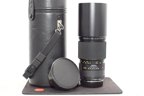 Leica Telyt-R 250mm f/4 MF 3 Cam Lens #3050657