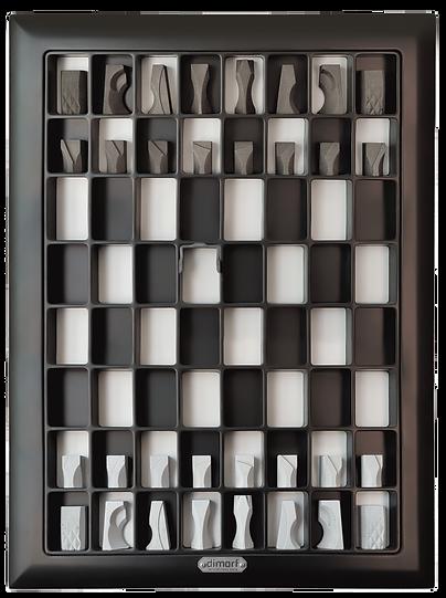 "Vectical Chessboard ""Cutaway"""