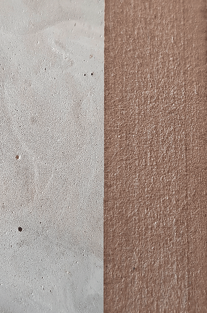 concrete and MDF material surface