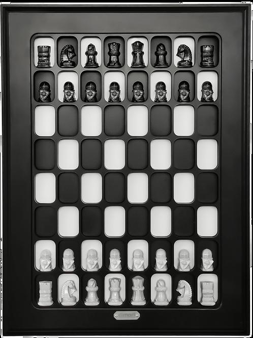 "Vectical Chessboard ""Sisi"""