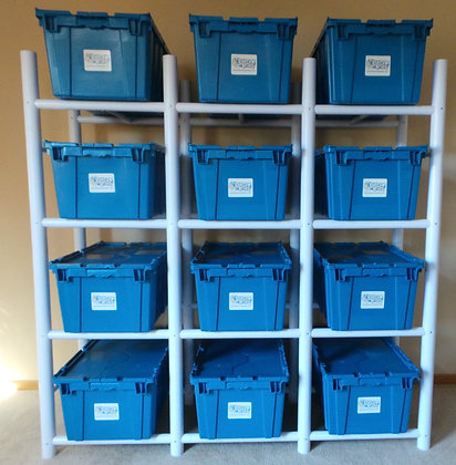 12-Box Storage System