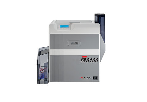Matica XID8100 Retransfer-Kartendrucker (Simplex)
