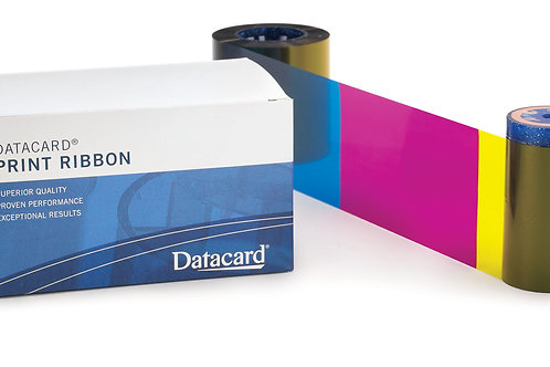Datacard Ribbon YMCKT Short Panel - 534700-002-R010 (650 Prints)