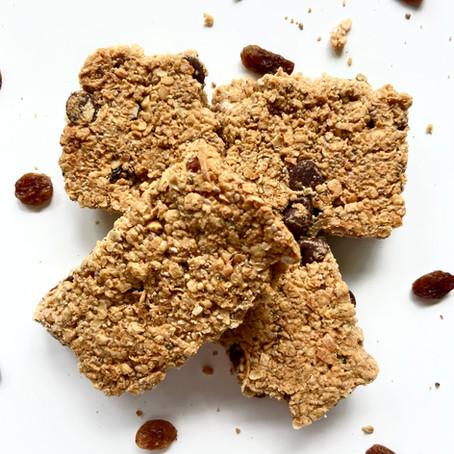 Chocolate Raisin Oat Bars (+ Nut-Free Option!)