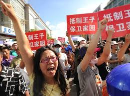 How large-scale protests in China succeed?