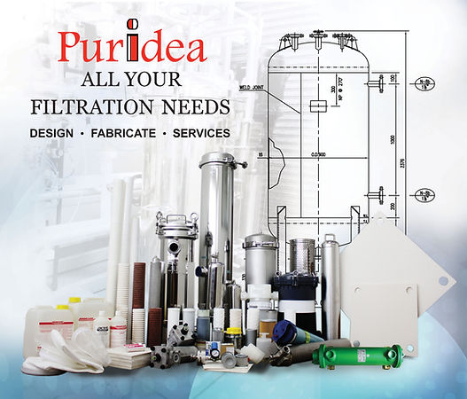 Puridea | Filters | Housings | Taisei Kogyo | Disinfectant Chemical