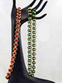 Orbital Weave Necklaces