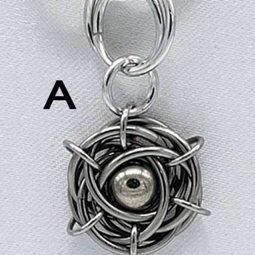 Titanium Nest Keychain