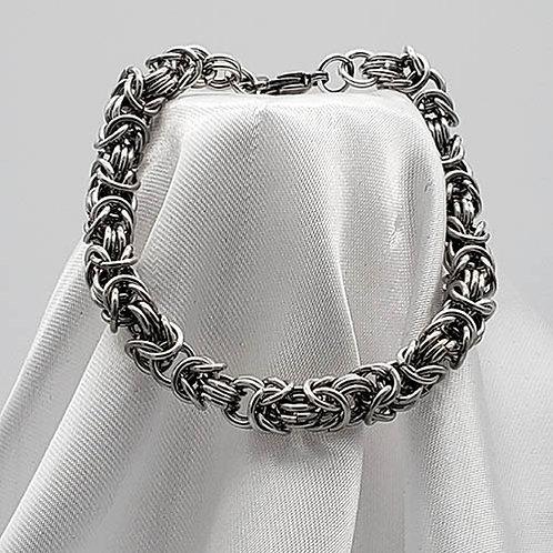 Silver Byzantine Bracelet