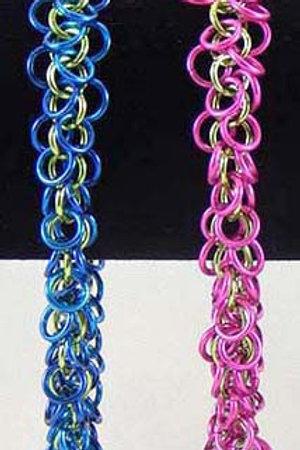 Shaggy Loop Weave Bracelet