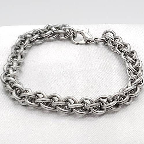 Titanium Bracelet in a Beautiful Weave