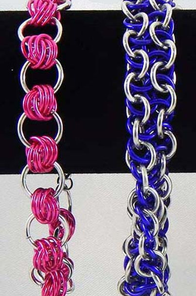 Knotted & Surprise Weave Bracelets