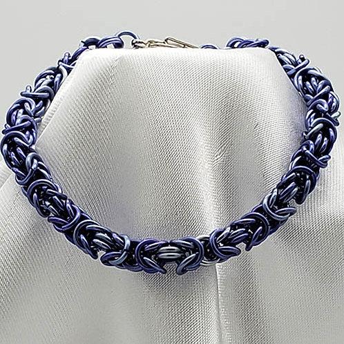Soft Shades of Lavender in Bracelet Set