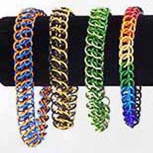 Double Half Persian Weave Bracelet