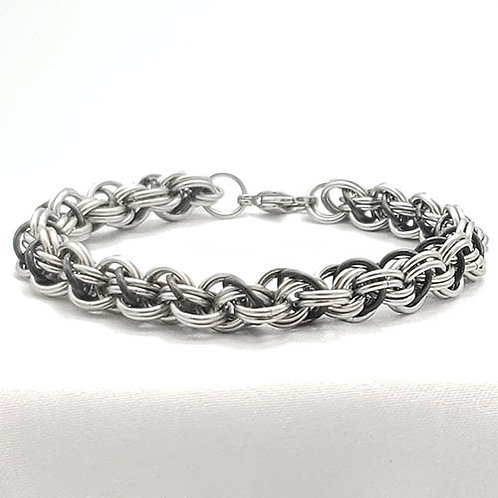 Woven in Stainless Steel