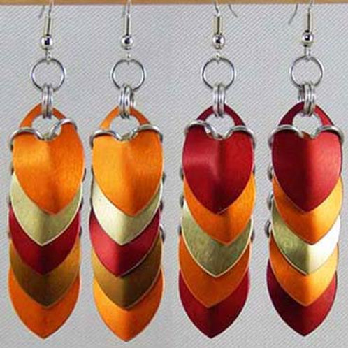 Colorful Small Scale Earrings
