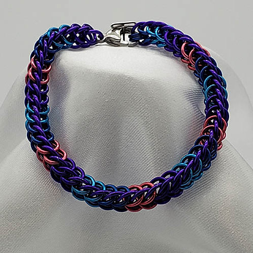Titanium in Purple with Red, Blue Accents