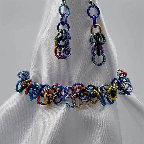 Bracelet Set in Multi-Colors