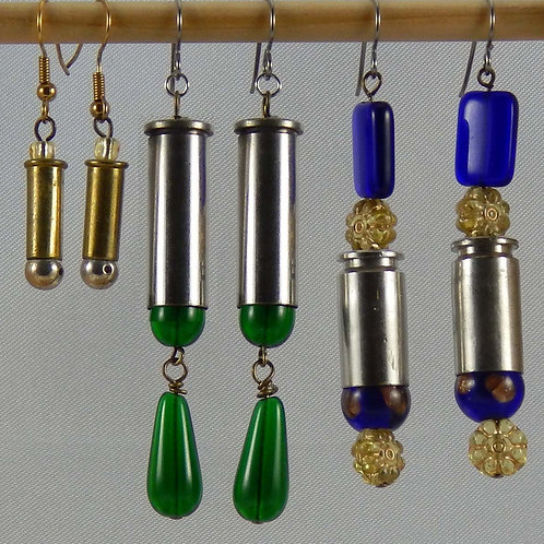 Multi-Caliber Earrings